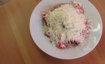 Домати със сирене