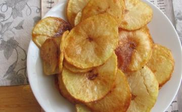 Пържени картофи Слънце